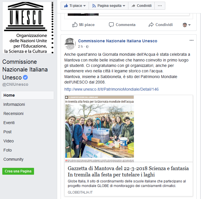 2018 03 26 FB Commissione italiana unesco